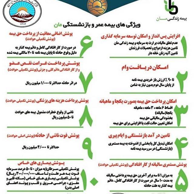 بیمه ایران نمایندگی چم